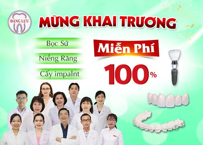 Miễn phí làm răng thẩm mỹ – Khai trương chi nhánh mới [Cần Thơ]