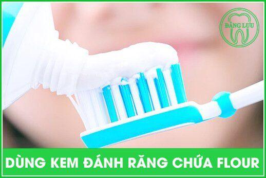 phòng tránh nhiễm flour cho răng