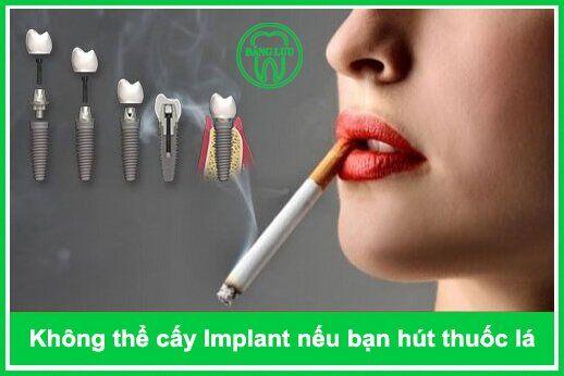 thuốc lá gây ra nhiều chứng bệnh về răng miệng